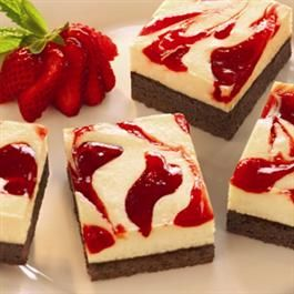 Strawberry Cheesecake Brownies valentines day valentinesday dessert desserts food foods party heart