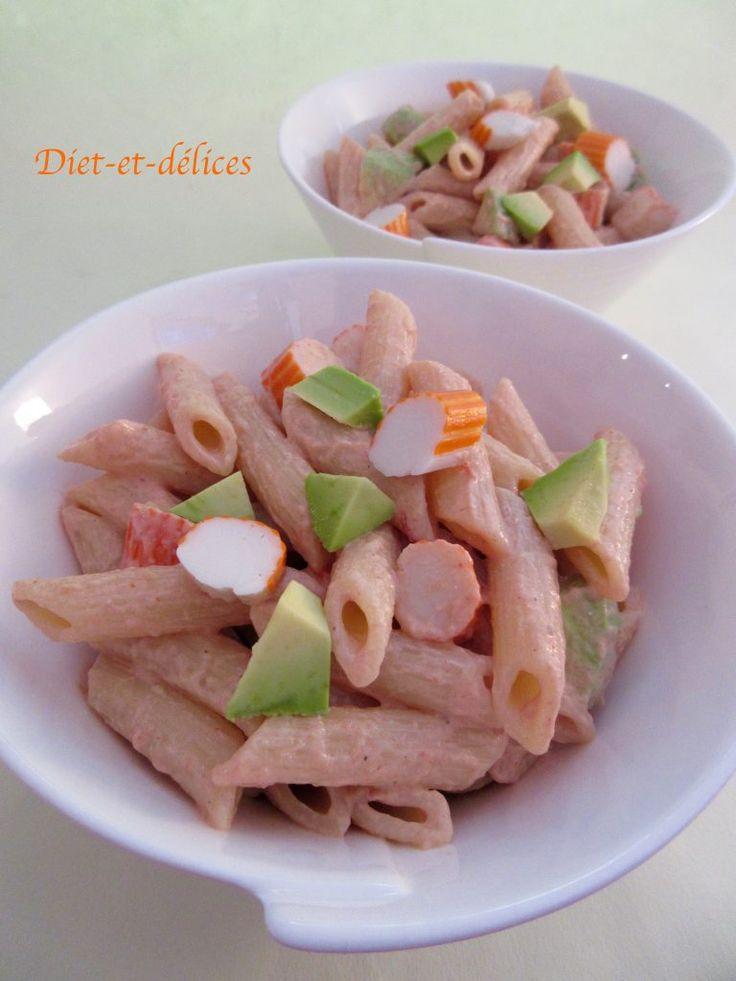 les 25 meilleures id 233 es de la cat 233 gorie salade pates surimi sur surimi recettes de