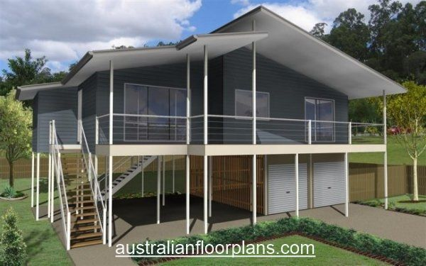 The Beach House Three Bed Beach Home Design Beach House Floor Plans Home Design Floor Plans House Plans Australia