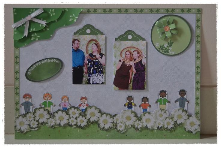 theme : green family green holiday