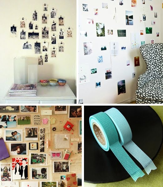photo collage wall inspiration - Picture Collages