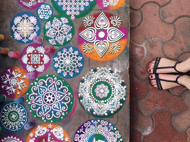 Discovering the colors of Diwali with @grandhyattmumbai #livinggrand @grandhyatt
