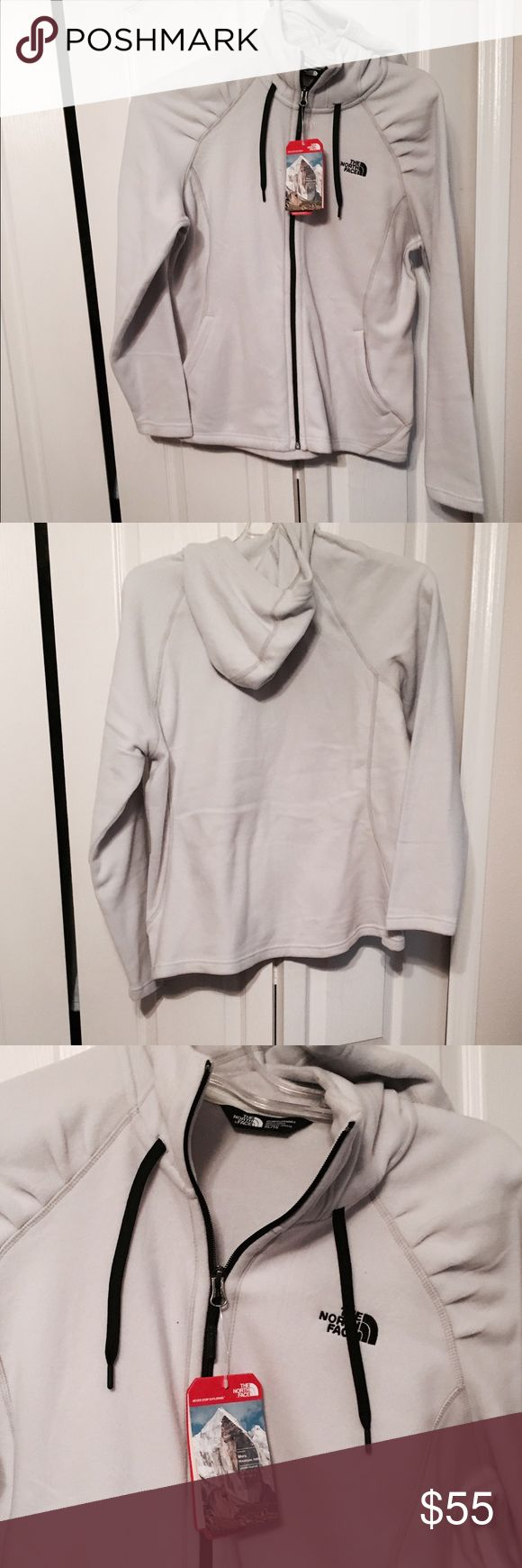 Ladies North Face Fleece Jacket with Hoodie XL NWT XL Ladies Jacket NWT The North Face Jackets & Coats