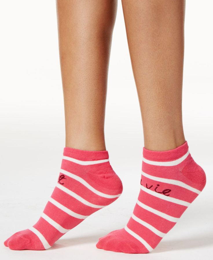 kate spade new york Women's Sailing Stripe No-Show Socks