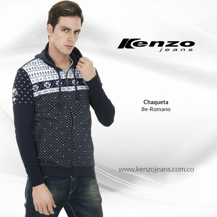 Una chaqueta imprescindible en el guardarropa masculino, te protegerán del frío y complementarás tus mejores looks. #KenzoJeansaUnClic más en www.kenzojeans.com.co