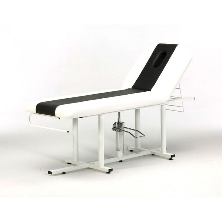 2 Section Hydraulic Couch available at Salon Equipment Centre