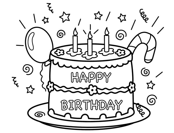 61 best Birthday images on Pinterest Birthdays Colouring and