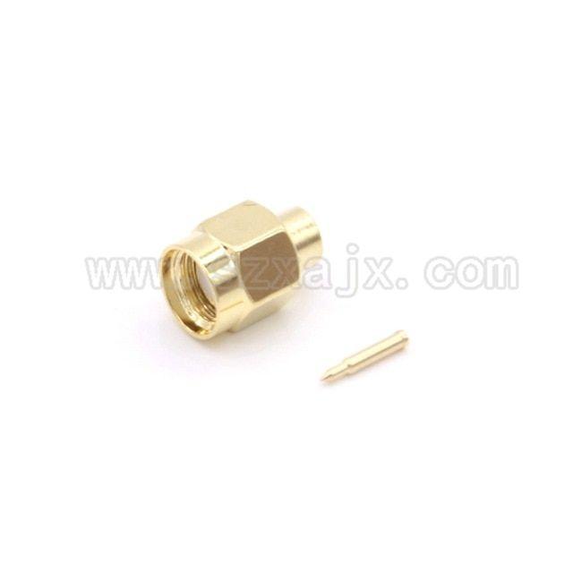 10Pcs SMA Male to SMA Male RF Extension Coax Pigtail Semi-Rigid Cable RG402  USA