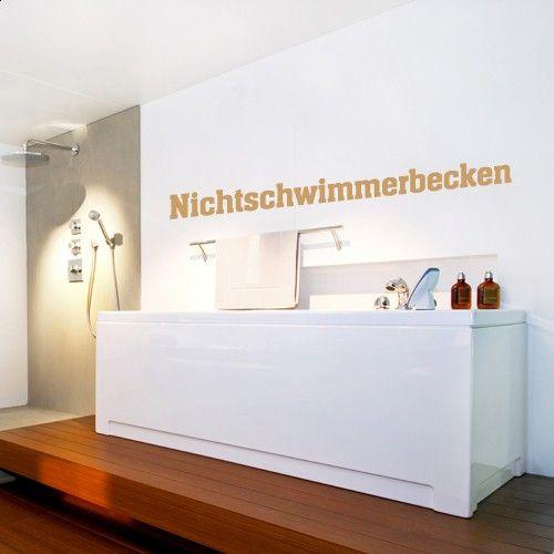 Wandtattoo Nichtschwimmerbecken Http://www.wandkings.de/wandtattoo  Badezimmer