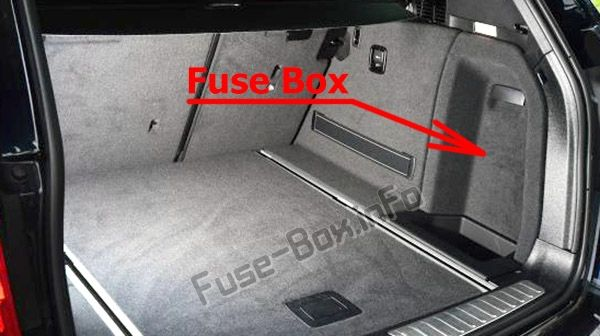 Bmw X3 Rear Fuse Box Location