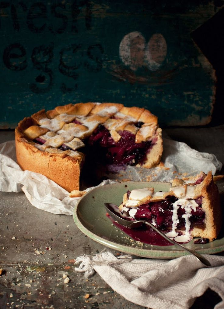 deep dish blueberry berry pie - home sweet home