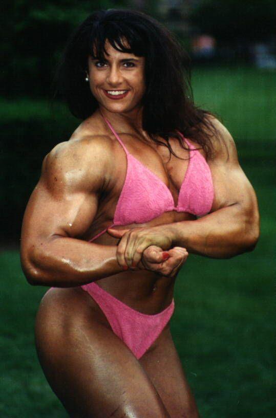 Tina Lockwood  Bodybuilding, Muscle Girls, Fitness Show-4235