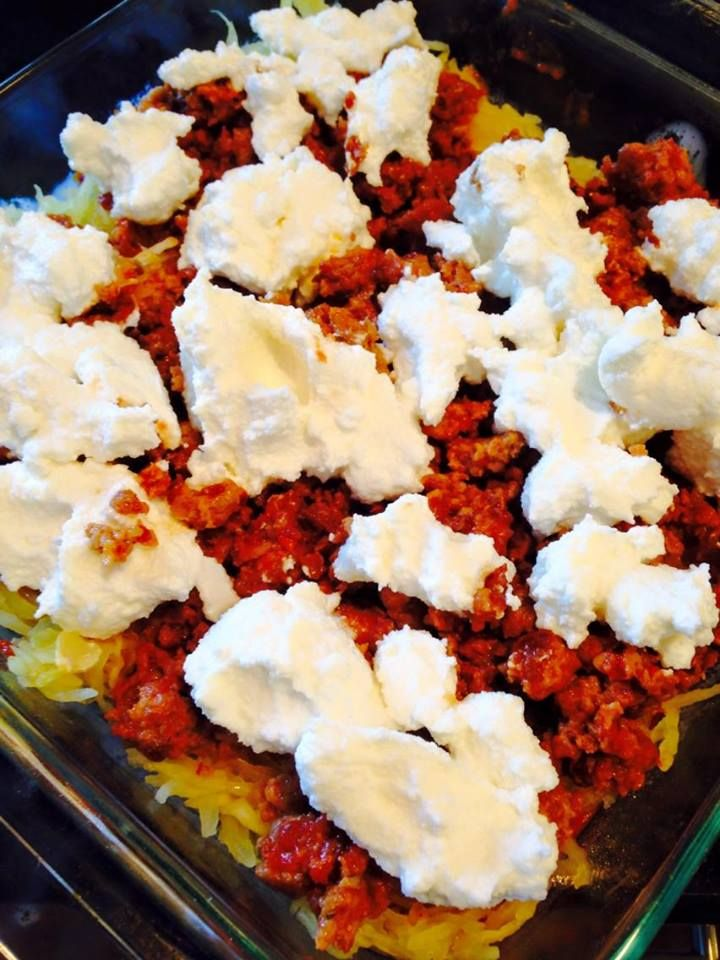 21 Day Fix Spaghetti Squash Lasagna