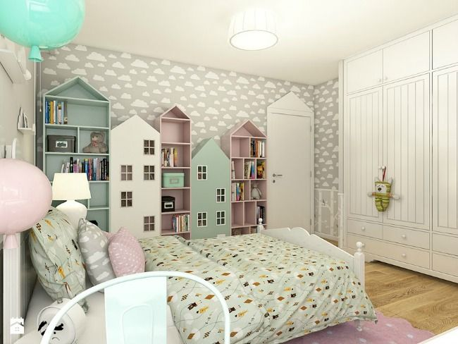 Habitación infantil romántica : Dormitorios infantiles románticos, solo para niñas. Tonos suaves y delicados donde el rosa y el blanco son los más utilizados, aunque cualquier color sirve