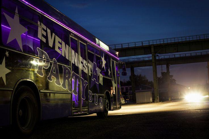 Partybusz külső kép