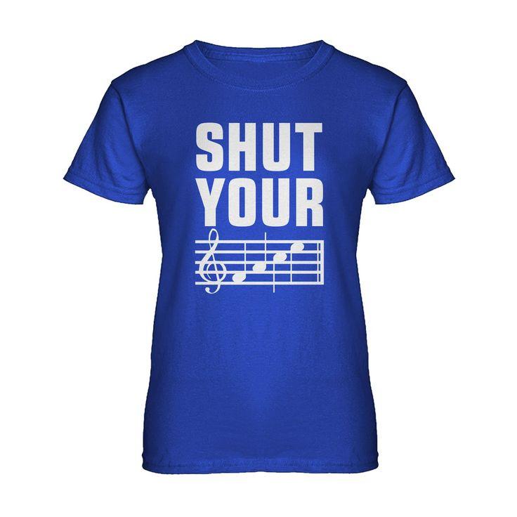 Womens Shut Your Face Ladies' T-shirt