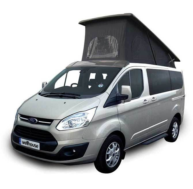 ford transit tourneo custom built by wellhouse motorhome. Black Bedroom Furniture Sets. Home Design Ideas