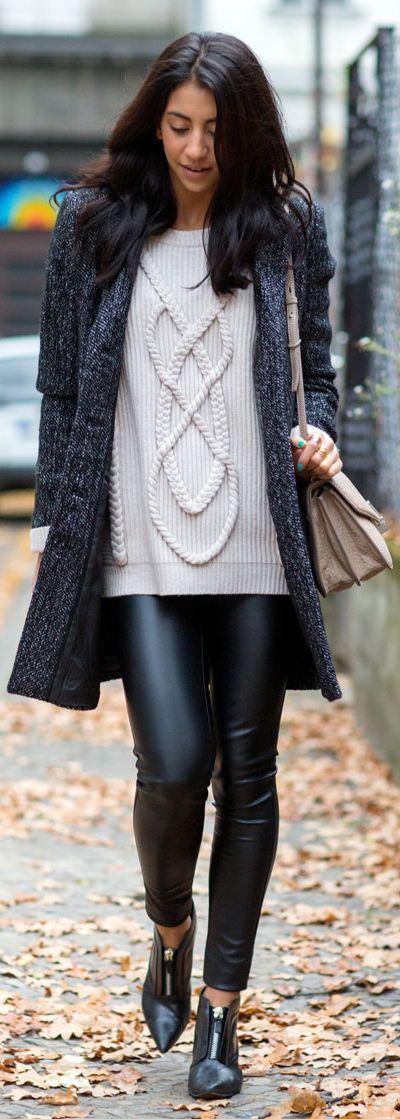 Cream Luxury Cashmere Cable Knit Chunky Sweater
