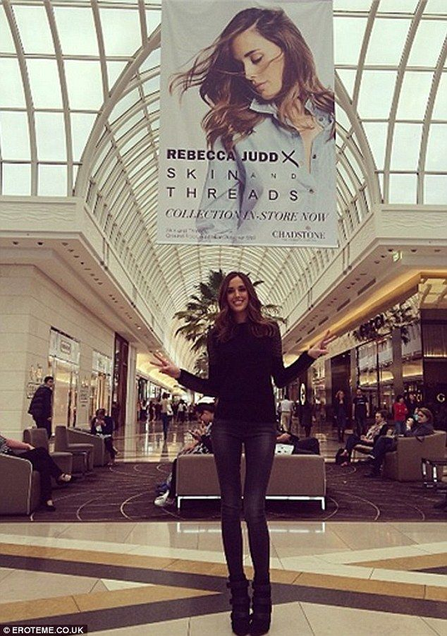 Brunette beauty! She launched the collection at Chadstone Shopping Centre in Melbourne on ...