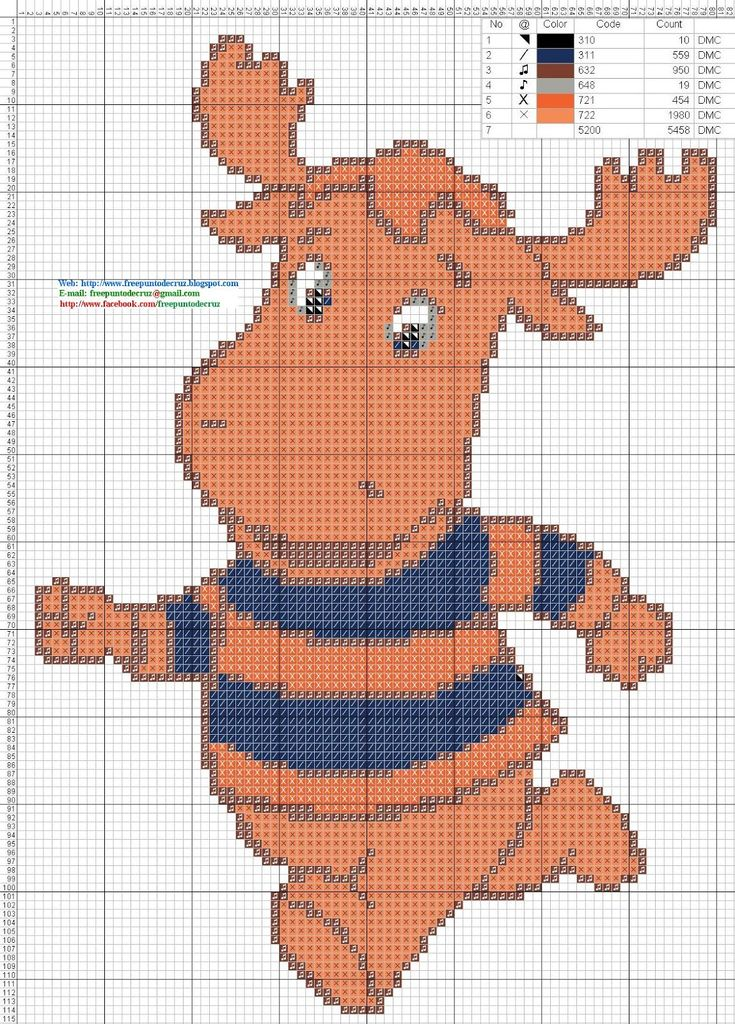 Tyrone++Backyardigans+-+Cross+Stitch+Punto+de+Cruz.jpg (1149×1600)
