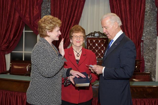 Swearing-in Ceremony by Senator Debbie Stabenow (D) MI, via Flickr