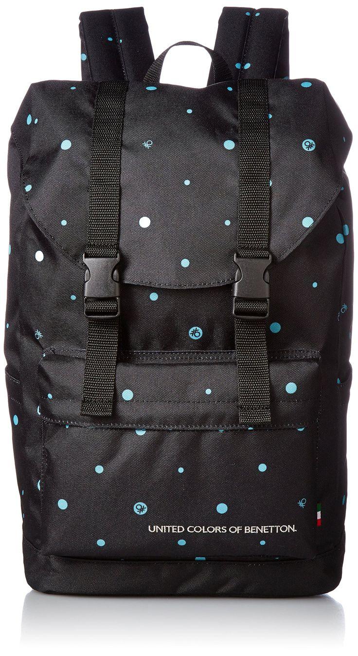 [Benetton] Backpack 2BE 8390 RK Black Black
