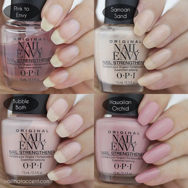 Fancy Opi Envy Nail Strengthener Embellishment - Nail Art Design ...