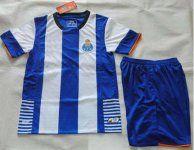 FC Porto 2015-16 Season Kids Home Soccer Kit(Shirt+Shorts) [B760]