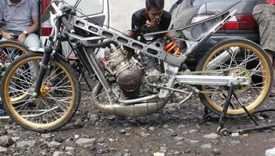 Gambar Modifikasi Motor Drag Ninja