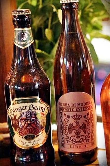 Ginger Beard: birra la cui ricetta viene esaltata da infusi di radice di zenzero. Una bevanda dalle note piccanti e pepate. Birra di Modena: una birra di pregio con un pronunciato sapore di malto. E voi le avete già provate?   #RockCafè #Modena