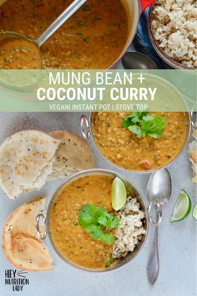 Mung Bean And Coconut Curry This Easy Vegan Curry Is Packed