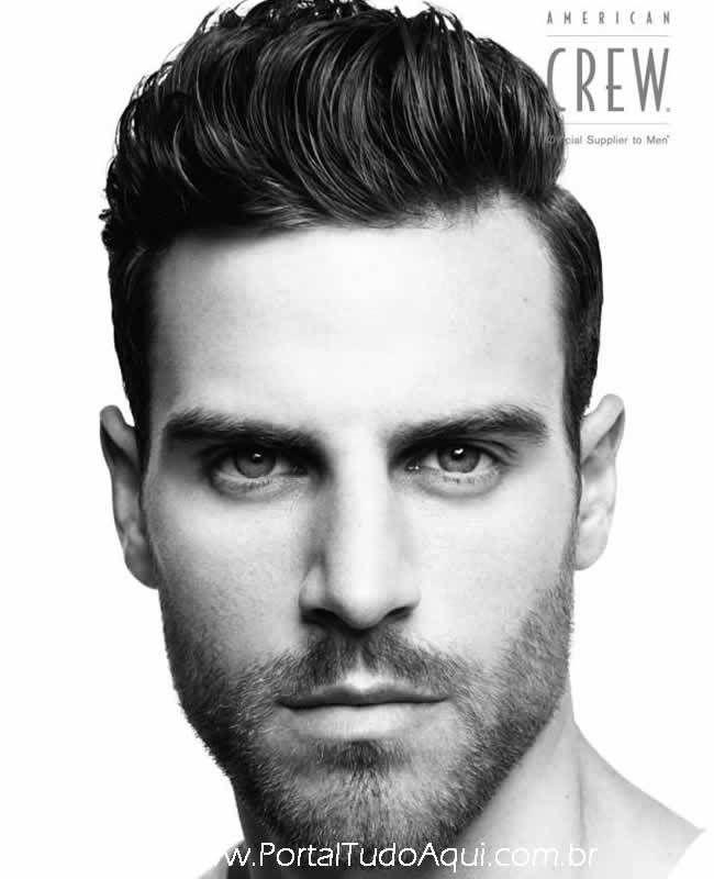 Americam crew 2014- Seleção dos cortes de cabelo dos melhores homens   – Estilo masculino