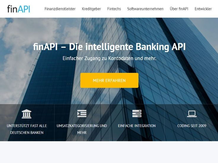 Banking API that connects Banks with Fintechs and makes development of high-level Fintech Services fast and easy.