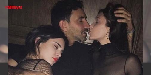 Ünlü modellerin fotoğrafı olay oldu!: Paris Moda Haftası için Paris'te bulunan yakın arkadaşlar Bella Hadid ve Kendall Jenner hiç ayrılmazken, magazin gündeminde manşetten düşmüyor. Ünlü tasarımcı Riccardo Tisci'nin dün akşam instagram'da paylaştığı fotoğraf gündeme bomba gibi düştü. Bella'yı öpen 42 yaşındaki Tisci'nin kucağında i...