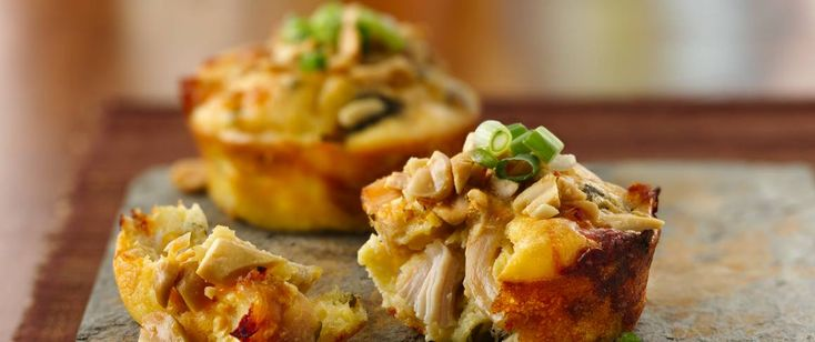 Serve this savory pie loaded with chicken and broccoli – a tasty dinner for your…