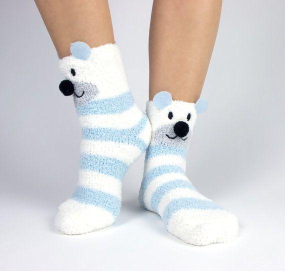 Polar bear and snowflake Christmas and holidy by AkiannaJewelry