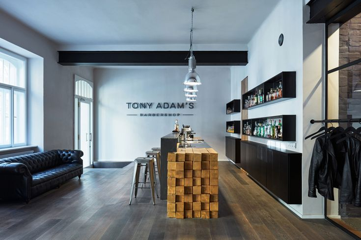 Tony Adam's Barbershop in Prague by OOOOX