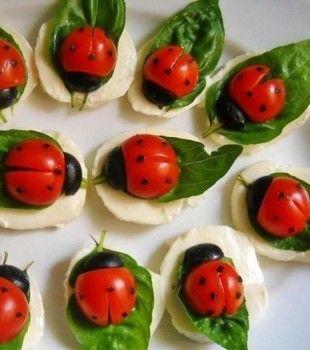 4 aperitivos fáciles y originales para niños