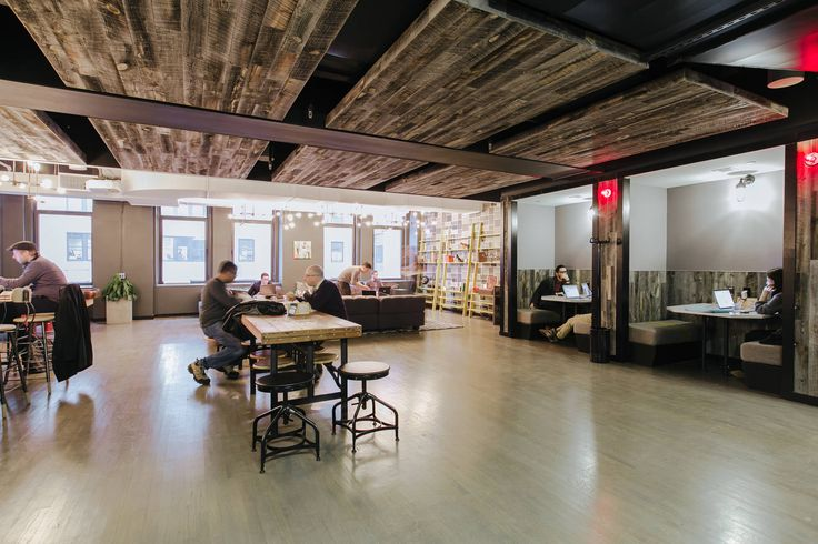 Coworking office space in new york ny wework charging Coworking space design ideas