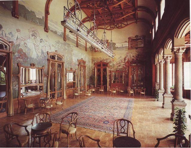 1000 images about ernesto basile on pinterest home for Villa maria interior design