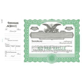 Goes 390 No Par Value Stock Certificate - Searching for a set of #No #Par #Value stock certificates? You should click here to take a look at our #Goes No. 390 No Par Value Stock Certificates now!