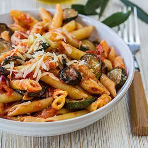 Recipe for Slow Cooker Zucchini Ziti. *8 Smart Points*