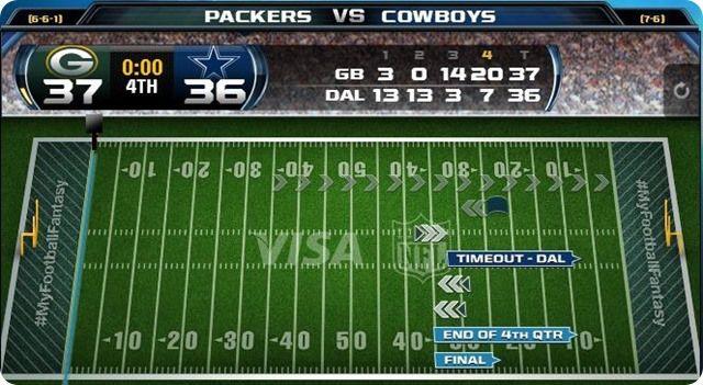 green bay packers vs. dallas cowboys - 2013-2014 Dallas Cowboys schedule - dallas cowboys vs. green bay packers - Dallas Cowboys ...