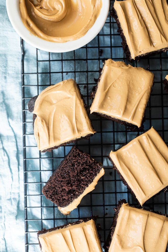 Dalgona Coffee frosted chocolate cake Foodness Gracious