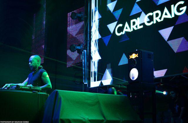 Carl Craig   ZOOK Electronic Music Photographer