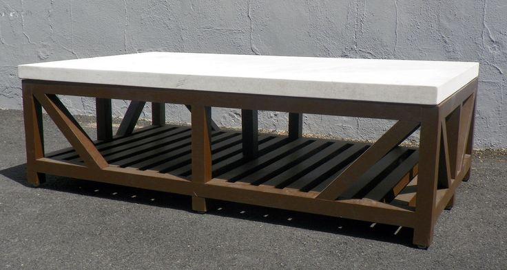 Limestone Top Coffee Tables