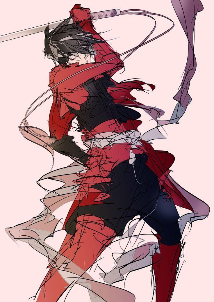 Cool Toyohisa art. Samurai anime, Drifter, Anime