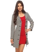Love this jacket from Forever 21Forever 21, Pinspiration Style, Stripes Coats, Coats Jackets, Aline Stripes, Jackets 42 80, Forever21, A Lin Stripes, Stripes Jackets