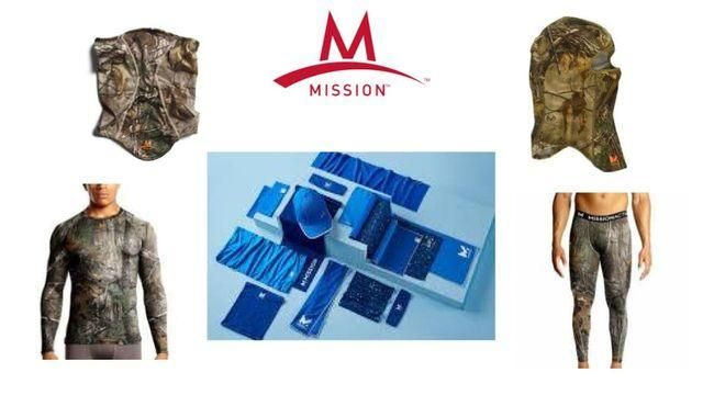 Mission Vaporactive Cooling Gear Baselayers Headgear Towels