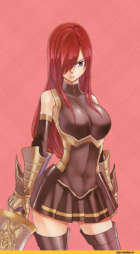 Erza Scarlet - More at https://pinterest.com/supergirlsart/